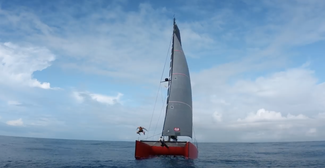When You're Searching For Uncrowded Waves, What's a Little 2,500-Mile Sail?