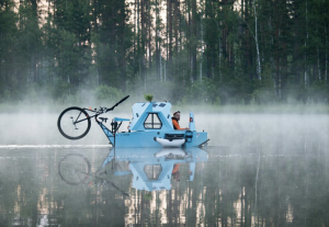 That All-In-One Bike, Boat, and Camper You Wanted Is Here