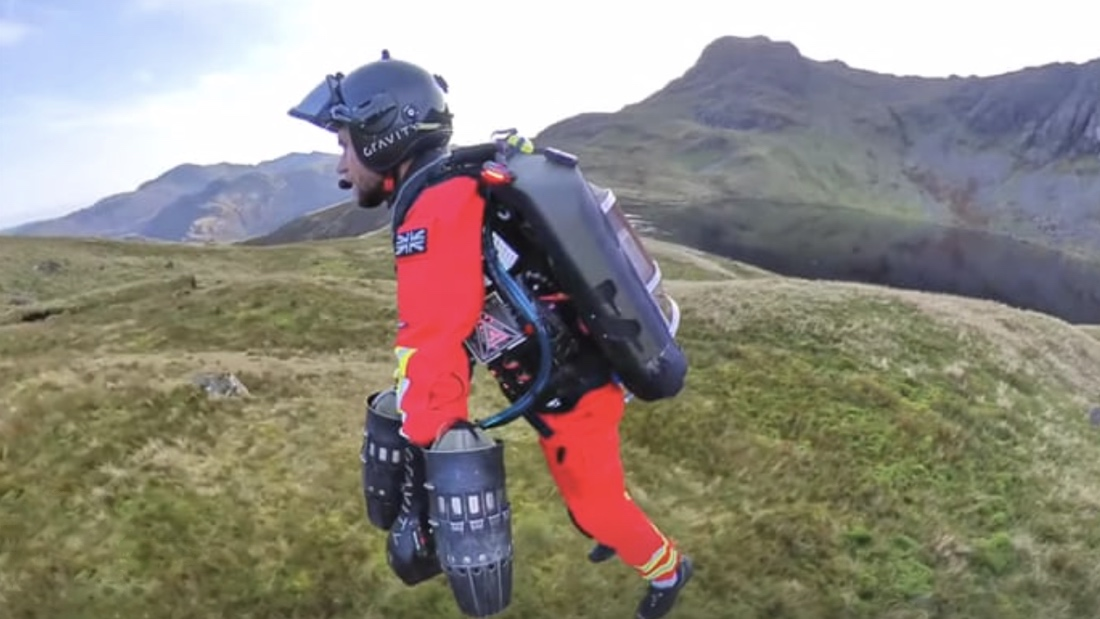 Jetpack Being Tested as SAR Tool in Northwest England—No, Seriously