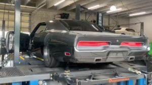 Listen to the SpeedKore 1970 Dodge Charger with a Hellephant swap