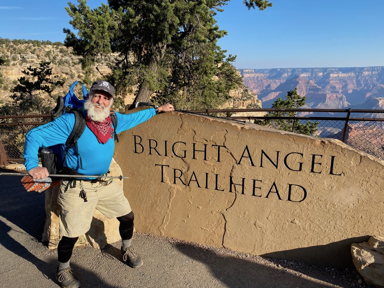 85-Year-Old Thru-Hiker Dale Sanders Just Lapped The Grand Canyon