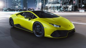 2021 Lamborghini Huracan Evo Fluo Capsule brings fluorescent colors