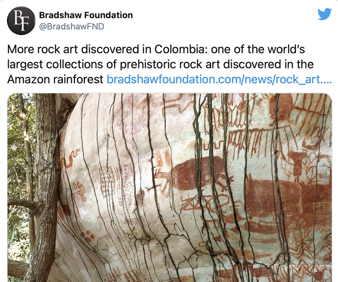'Sistine Chapel' of Prehistoric Rock Art Discovered in Colombia