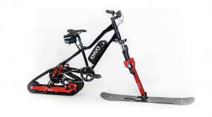 That Kit You Waned to Convert Your Bike Into an E-Snowmobile Is Here Now