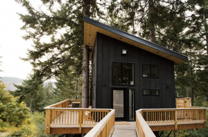 Enjoy Your Own PNW Winter Wonderland From the Klickitat Treehouse