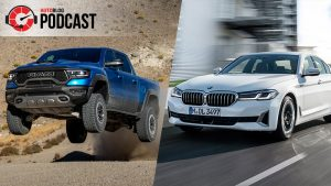 Autoblog Podcast #657: 2021 Ram TRX, BMW 5-Series and the end of the Alfa Romeo 4C