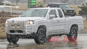 2021 Nissan Frontier spied in King Cab and Crew Cab forms