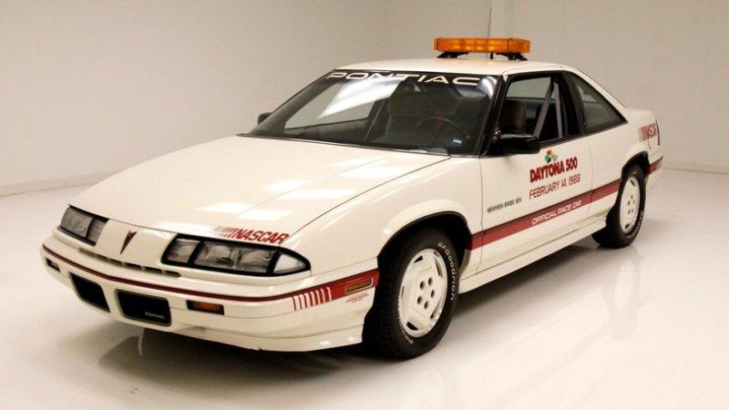Grab this 1988 Pontiac Grand Prix Daytona 500 pace car in auction