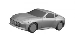 Nissan 400Z Z35 production version discovered in patent filing