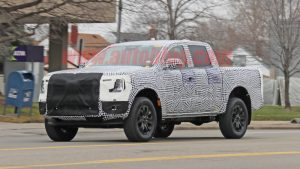 Next-gen Ford Ranger makes its spy photo debut