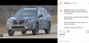 There's a Lifted, Meaner-Looking Subaru Outback 'Wilderness' Coming in 2022