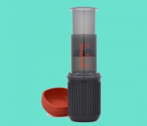 Did You Know AeroPress Makes a Camp-Friendly Travel Coffeemaker?