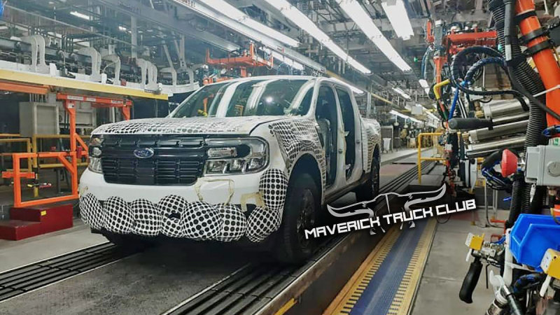 Ford Maverick pickup leaked in new spy photo