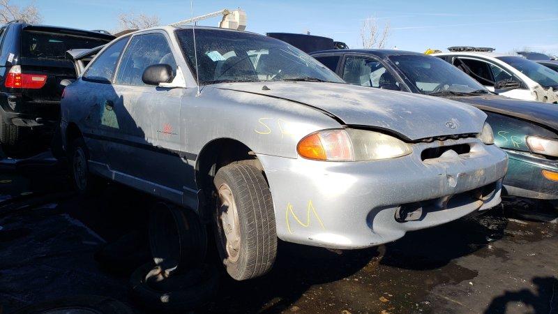 Junkyard Gem: 1997 Hyundai Accent GT