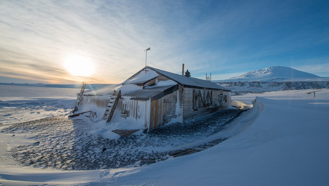 Preserving the Shackleton and Scott Huts