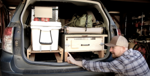How To Build an Awesome DIY Kitchen in the Back of a Subaru
