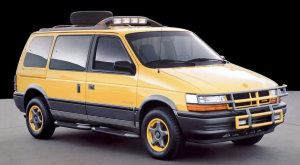 Dodge Came So Close To Kickstarting American Off-Road Van Market in the '90s