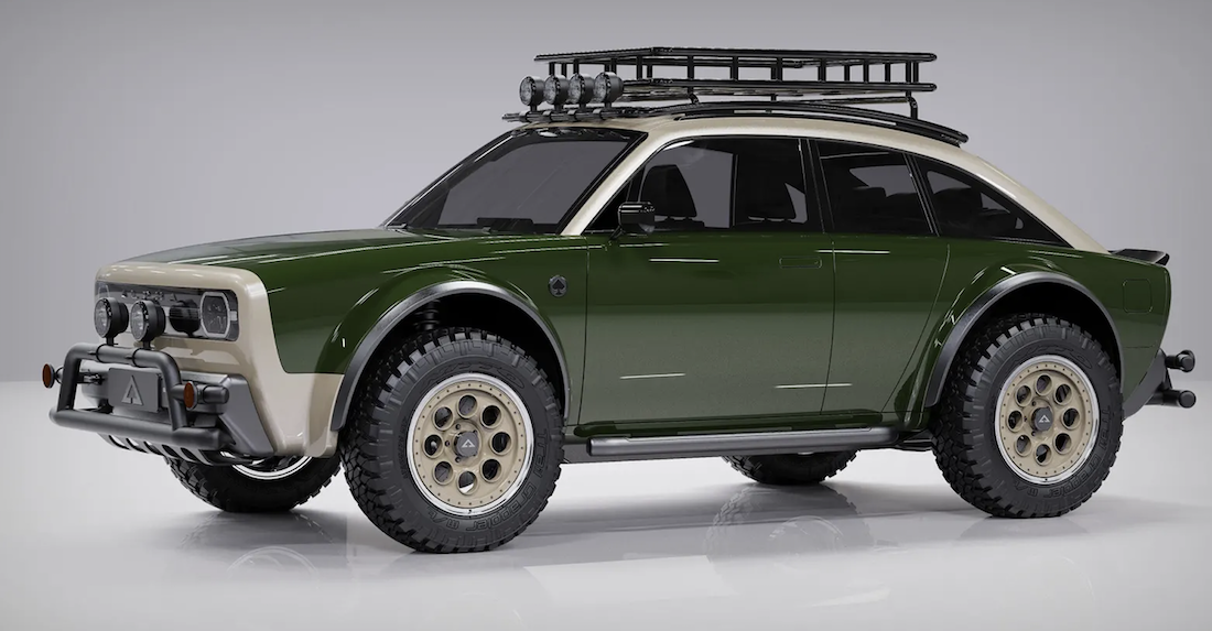 Keep Your Rivian, We'll Have This Safari-Inspired Alpha Jax EV