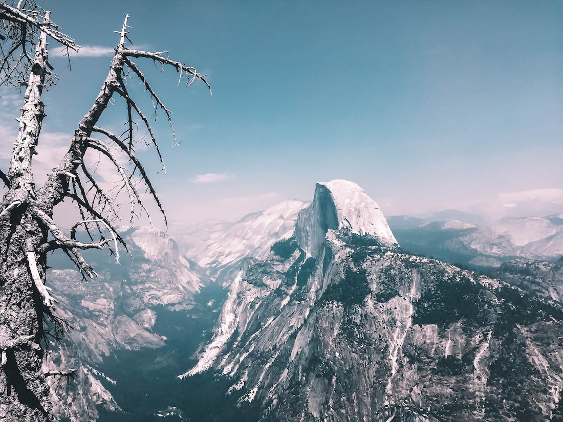 Two Dudes Skied Half Dome to Valley Floor