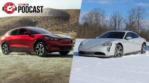 Autoblog Podcast #665: RWD Porsche Taycan, Ford Mustang Mach-E, Polestar 2, Audi E-Tron GT and Chevy Bolt EUV