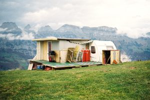 A Trailer Park in the Swiss Sky