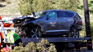 Tiger Woods reportedly told cops after crash he didn't remember driving
