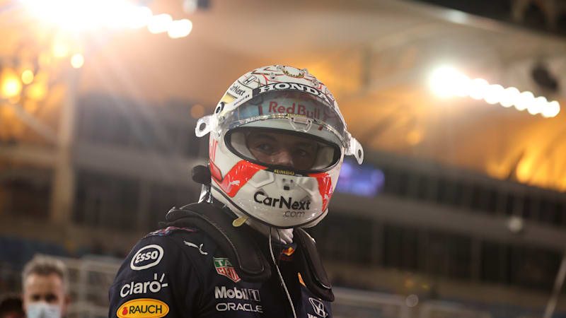 The fight is on as Verstappen puts Red Bull on pole at Bahrain Grand Prix