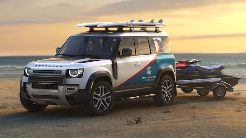 Land Rover awarding custom-built Defenders to non-profit organizations