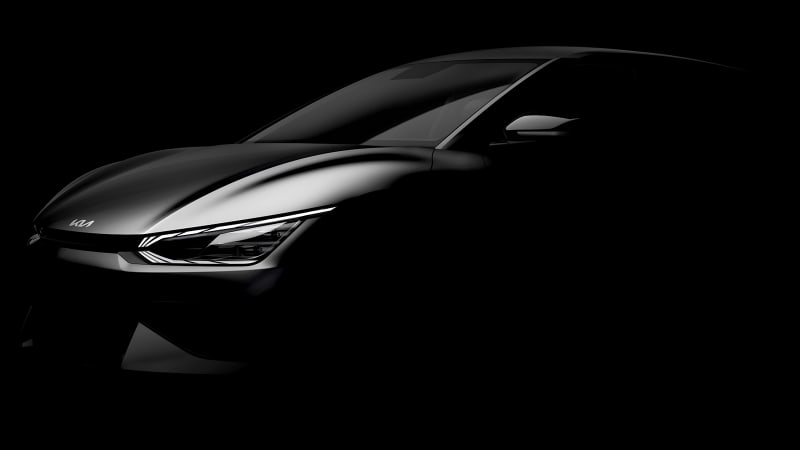 Kia EV6 teaser gives us our first photos of the E-GMP-based electric car