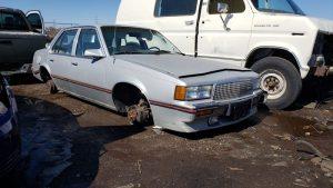 Junkyard Gem: 1987 Cadillac Cimarron