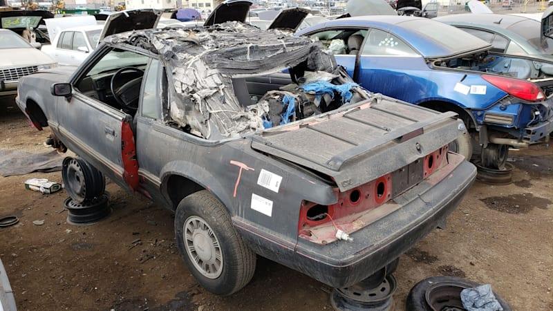 Junkyard Gem: 1993 Ford Mustang LX Convertible