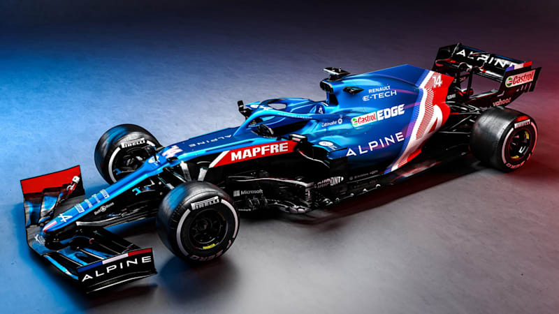 Alpine team launches its F1 car, says Alonso is 'fully operational'