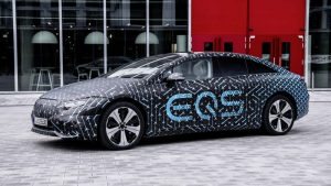 Mercedes-Benz EQS reveals its powertrain and battery secrets in detail