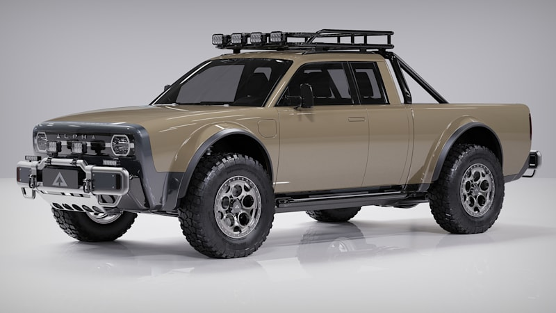 Alpha Wolf+ electric pickup adds space for friends, if only just
