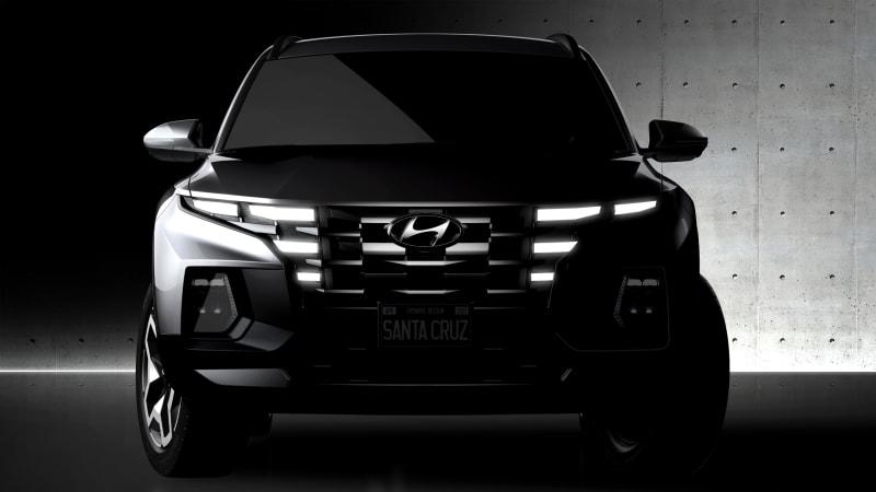 Hyundai Santa Cruz pickup's design team: 'It's not a truck'