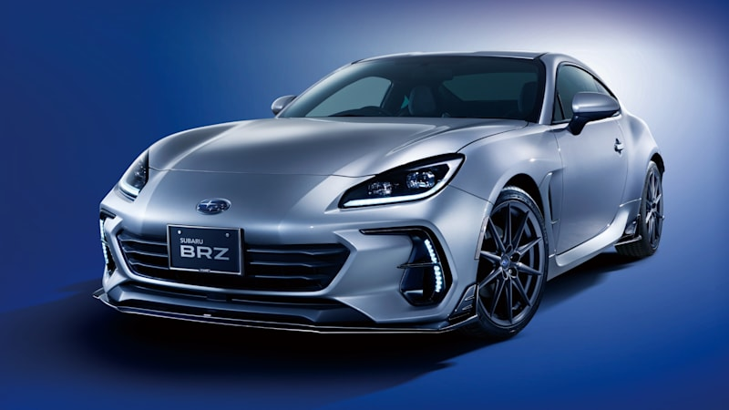 Subaru BRZ accessories and STI performance parts revealed